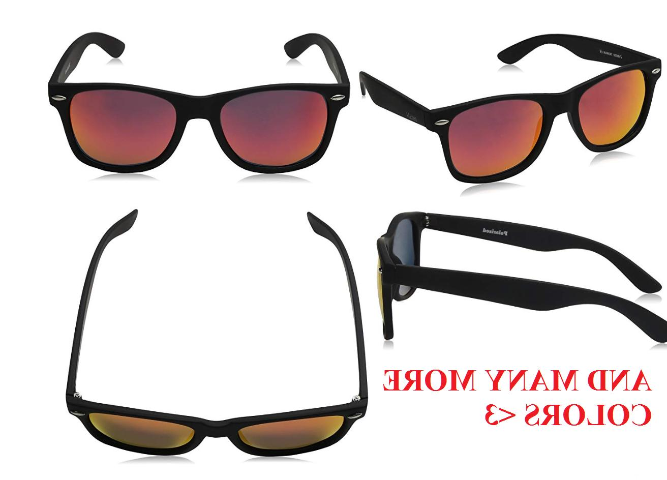 Matte Black Horn Rimmed Sunglasses, Many selections , +Case