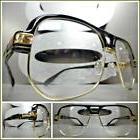 Men CLASSIC RETRO HIP HOP RAPPER Style Clear Lens EYE GLASSE