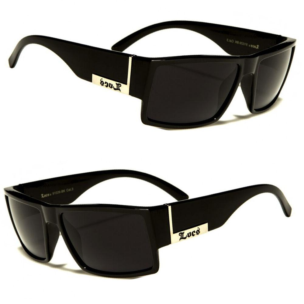 men dark lens gangster black og sunglasses