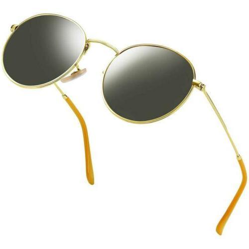 Joopin Men Retro Black Polarized Sunglasses Women Vintage Ro