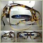 Men's VINTAGE HIP HOP RAPPER Style Clear Lens EYE GLASSES To
