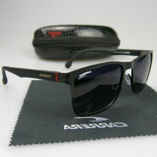 men women retro sunglasses square matte black