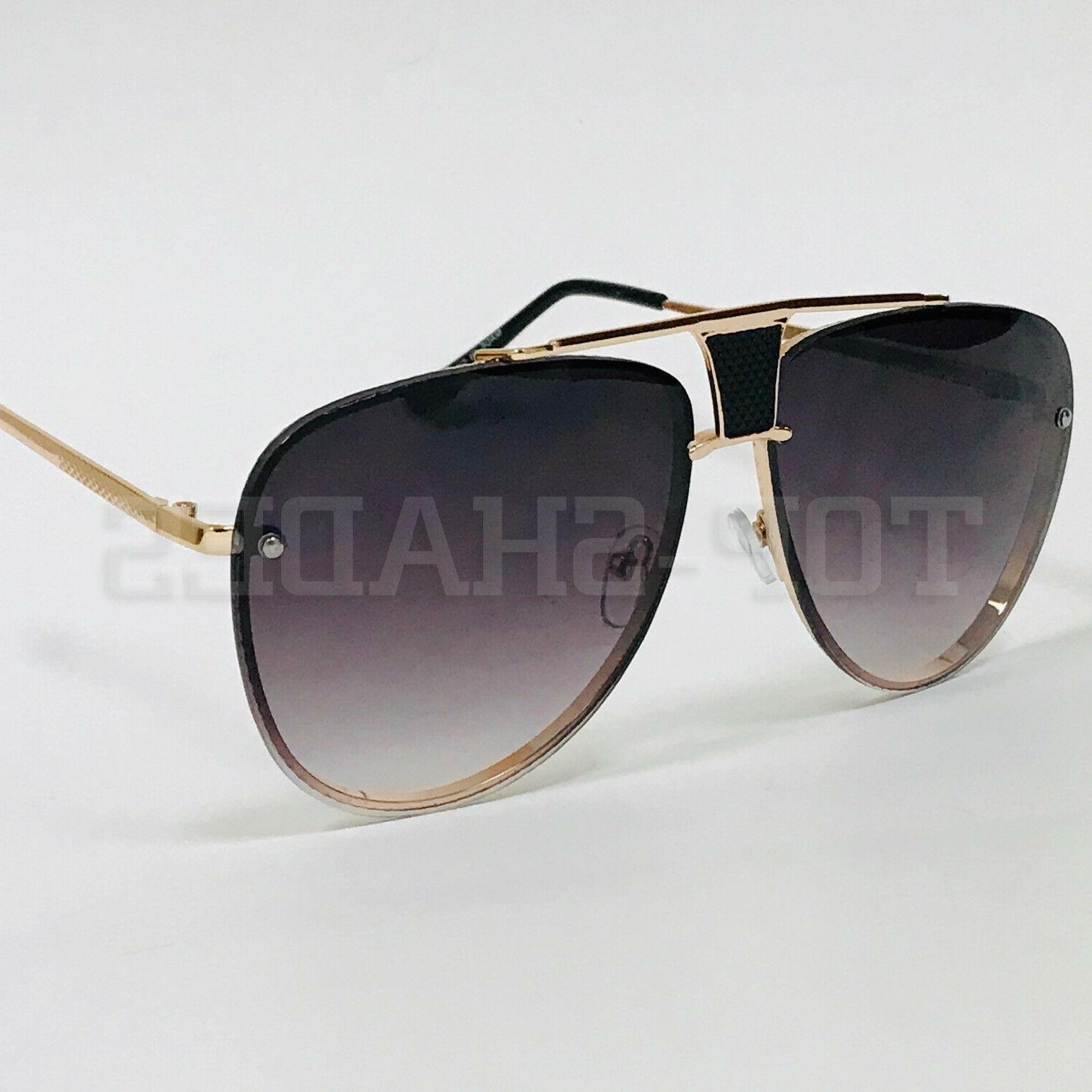 Men Women Sunglasses Vintage Oversized Style