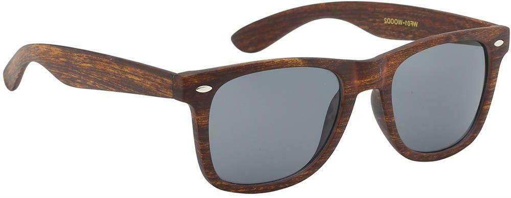 Faux Wood Wayfare Sunglasses Retro HIPSTER Nerd Retro Natura