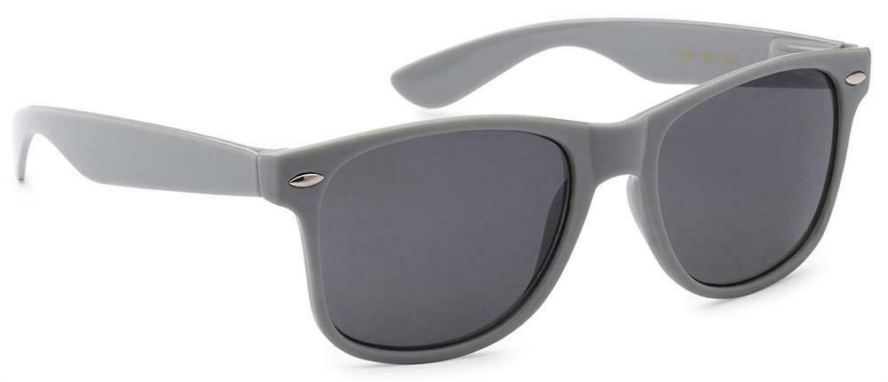 Gray Grey Wayfare Matte Flat Sunglasses HIPSTER Cute Nerd Me
