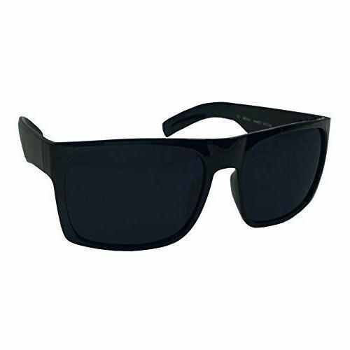 mens black sunglasses wide frame extra large