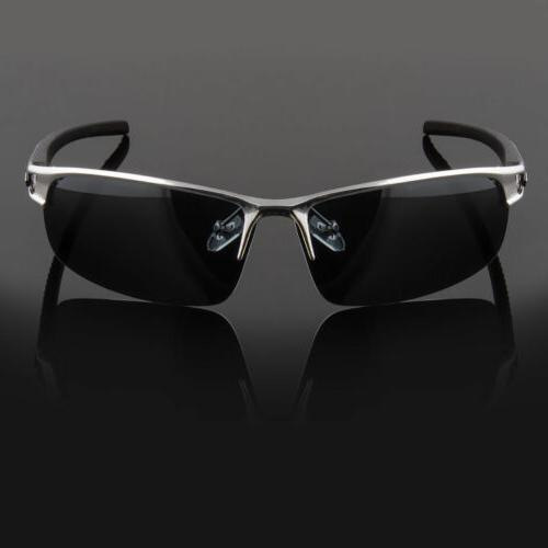 Metal Men Sport Wrap Around Eyewear
