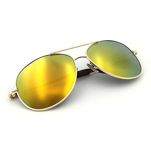 military classic aviator sunglasses