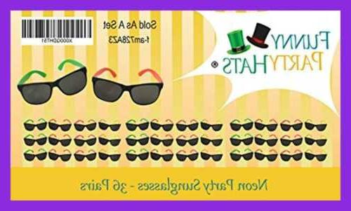 Funny Party Glasses Beach