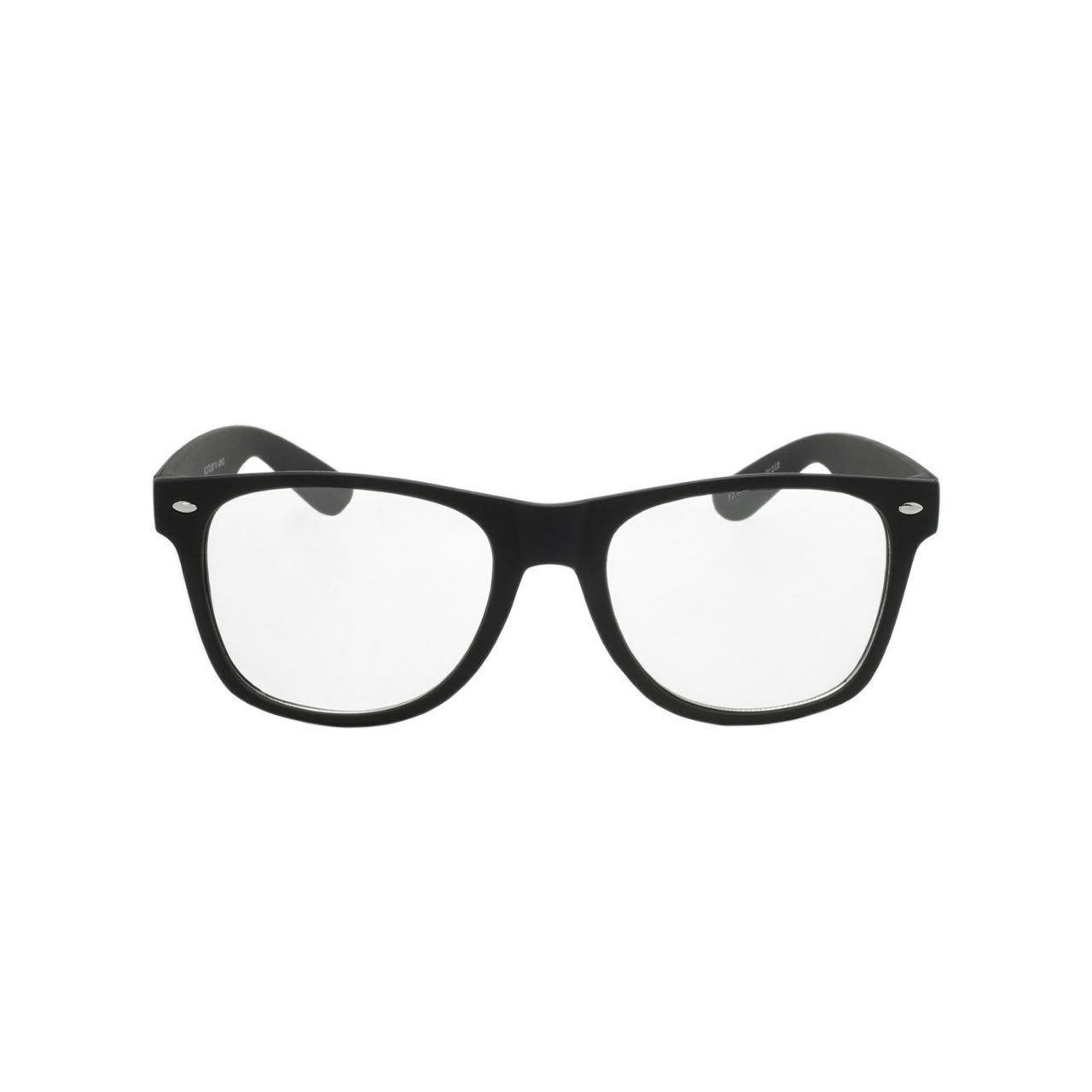 Nerd Style Clear Lens Glasses Pair Womens Sunglasses