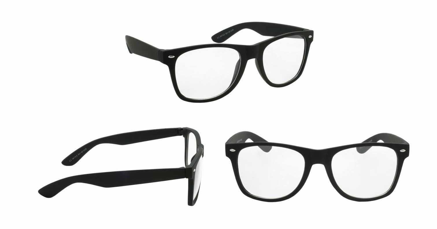 Nerd Style Clear Lens Glasses 2 Womens Sunglasses
