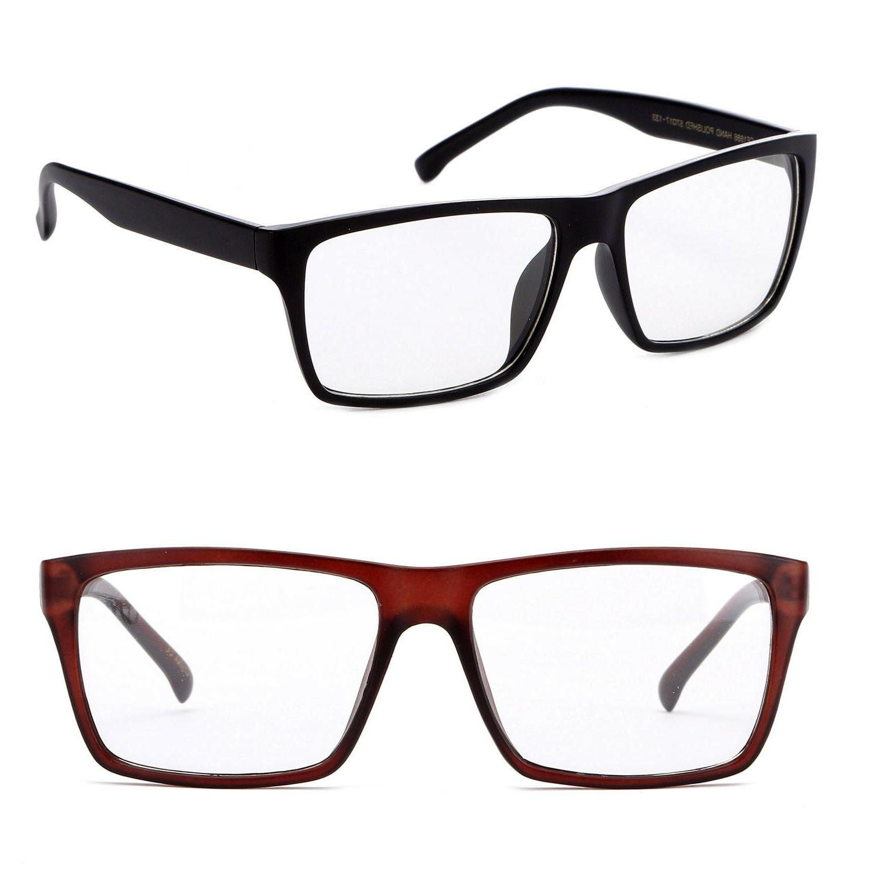 nerdy clear lens glasses big lens geek