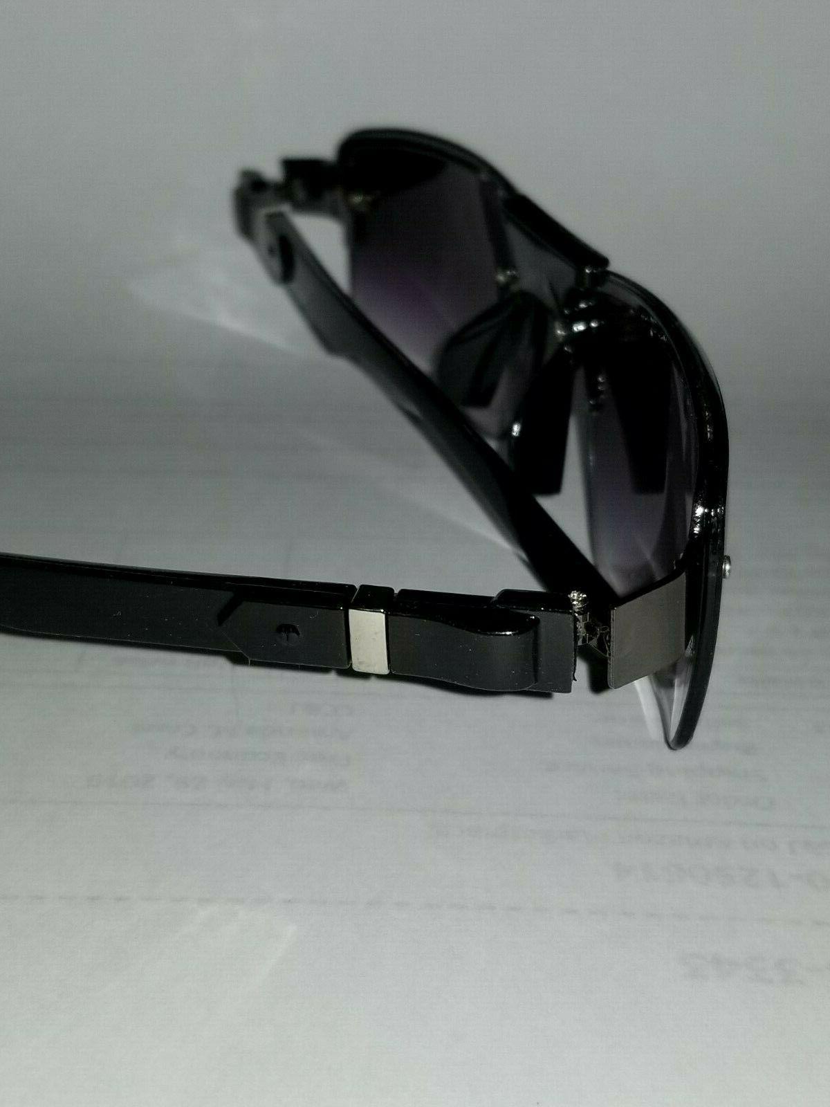 New DG Eyewear Mens Fashion Sunglasses Wrap Rectangular
