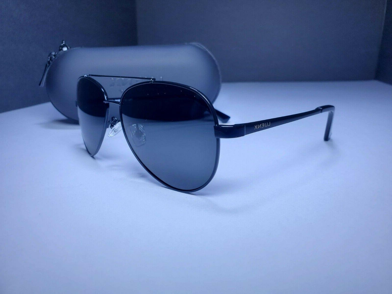 new men s aviator pilot polarized sunglasses