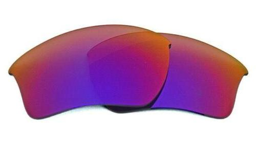 NEW POLARIZED RED FOR HALF JACKET SUNGLASSES