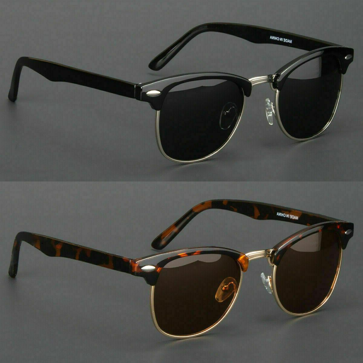 new polarized retro sunglasses mens womens vintage