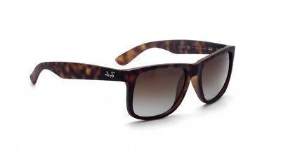 02eef295b2c97 New Ray-Ban Justin Classic Polarized Brown Gradient Tortoise