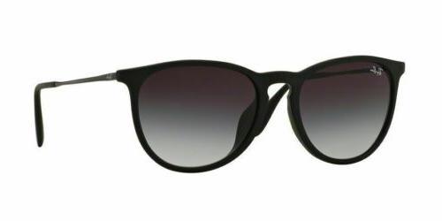 NEW Rayban Erika Sunglasses RB4171F 622/8G 54 Black Grey Gra