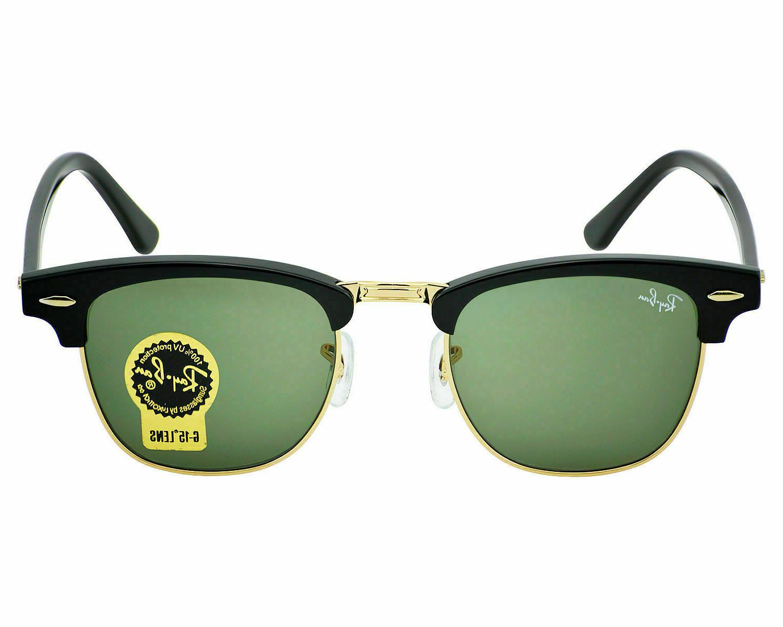 NEW Rayban Sunglasses Gold Classic Green