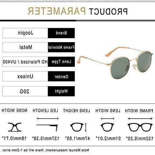 New Joopin Retro Brand Polarized Vintage Sunglasses