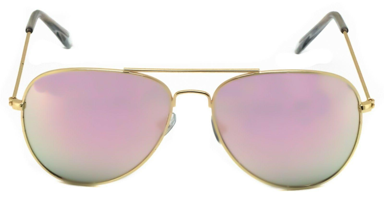 New Aviator Unisex Iridescent Lens Men Fashion Frame