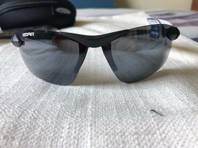 New Tifosi Seek FC Matte Black Polycarbonate Lens Cycling Sp