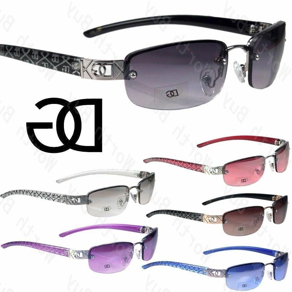 new womens small rimless sunglasses fashion designer