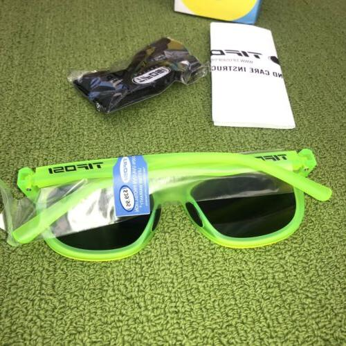 Tifosi Optics Sunglasses Satin Green 100% UVA