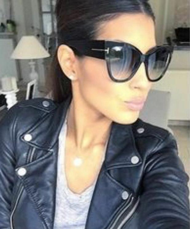 oversized cat eye anoushka sunglasses