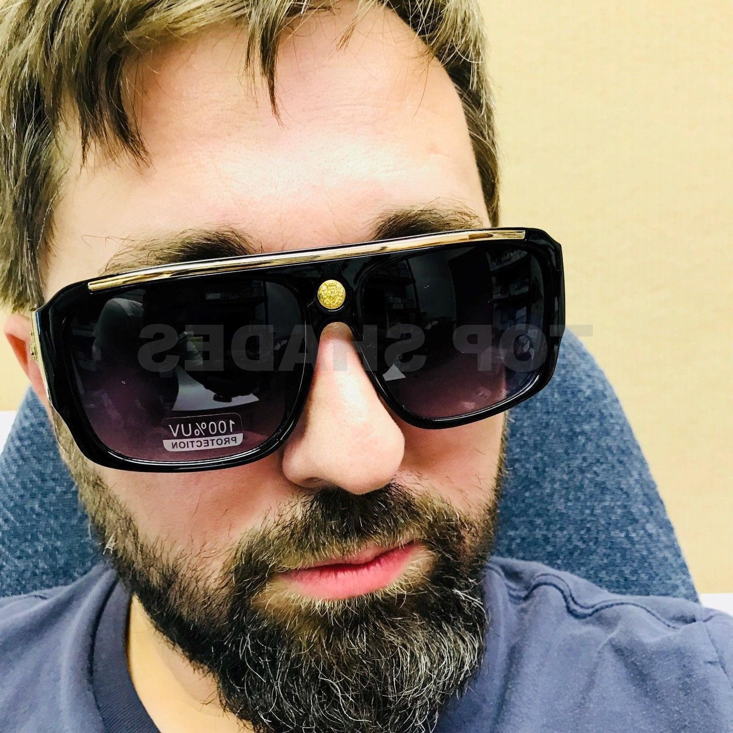 Oversize Square Sunglasses Gradient Hip
