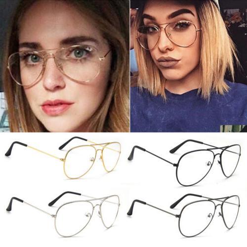 oversized round clear lens aviator fashion sunglasses