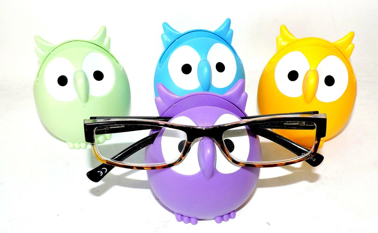 Owl Glasses Sunglasses Eyeglass Holder Stand Display Rack Smartphone Holder