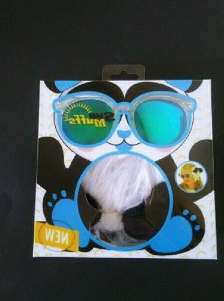 panda designer sun glass and detachable earmuffs