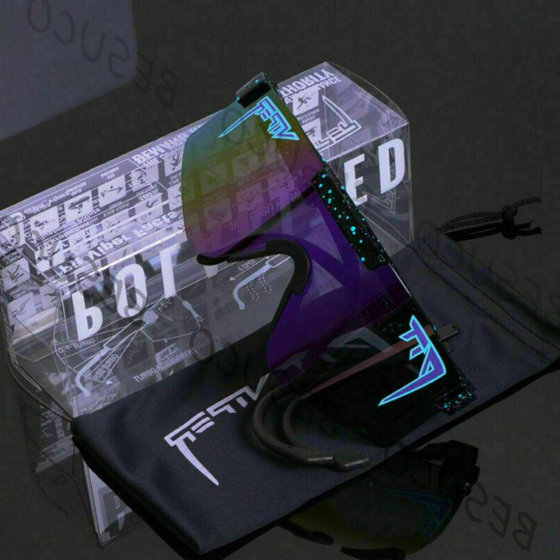 Pit Viper Polarized Cycling Sunglasses Sport TR90 For Outdoor