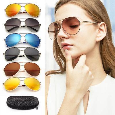 Polarized Sunglasses Driving Mirrored Case
