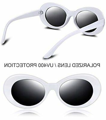 Joopin Clout Women Men Retro Oval Style Polarized