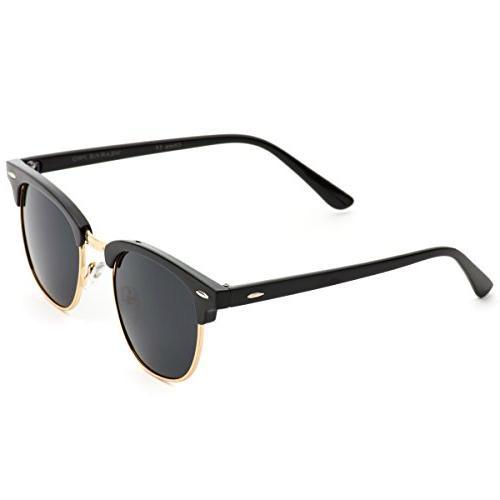 Polarized Frame Semi Sunglasses