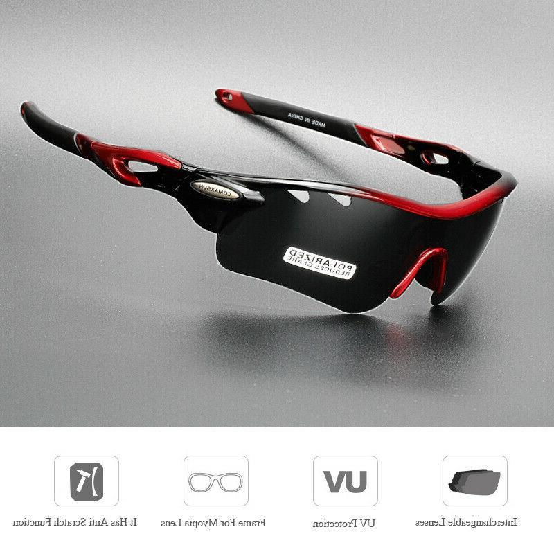 New Polarized Bike Goggles UV400