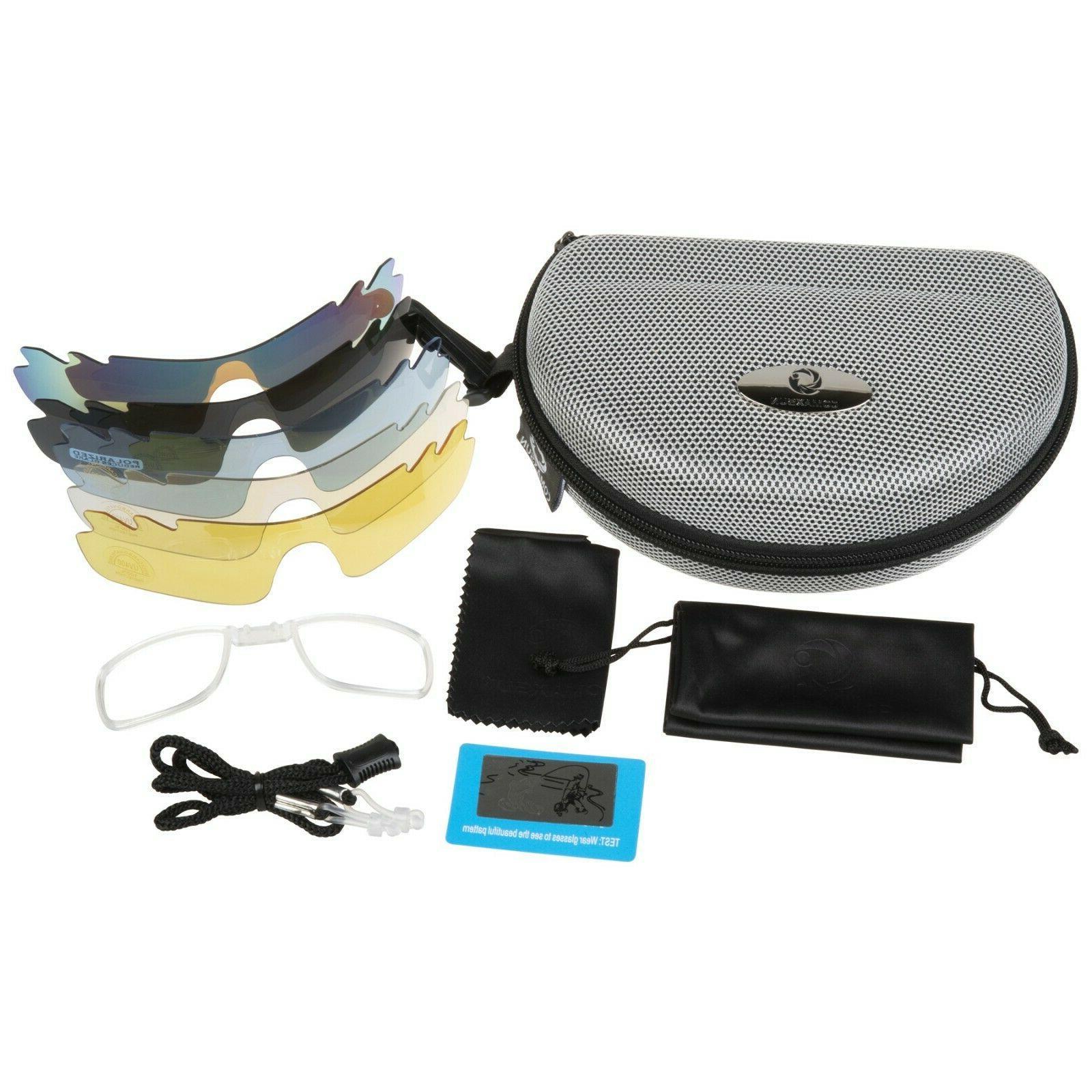 New Polarized Glasses Bike Fishing UV400 5