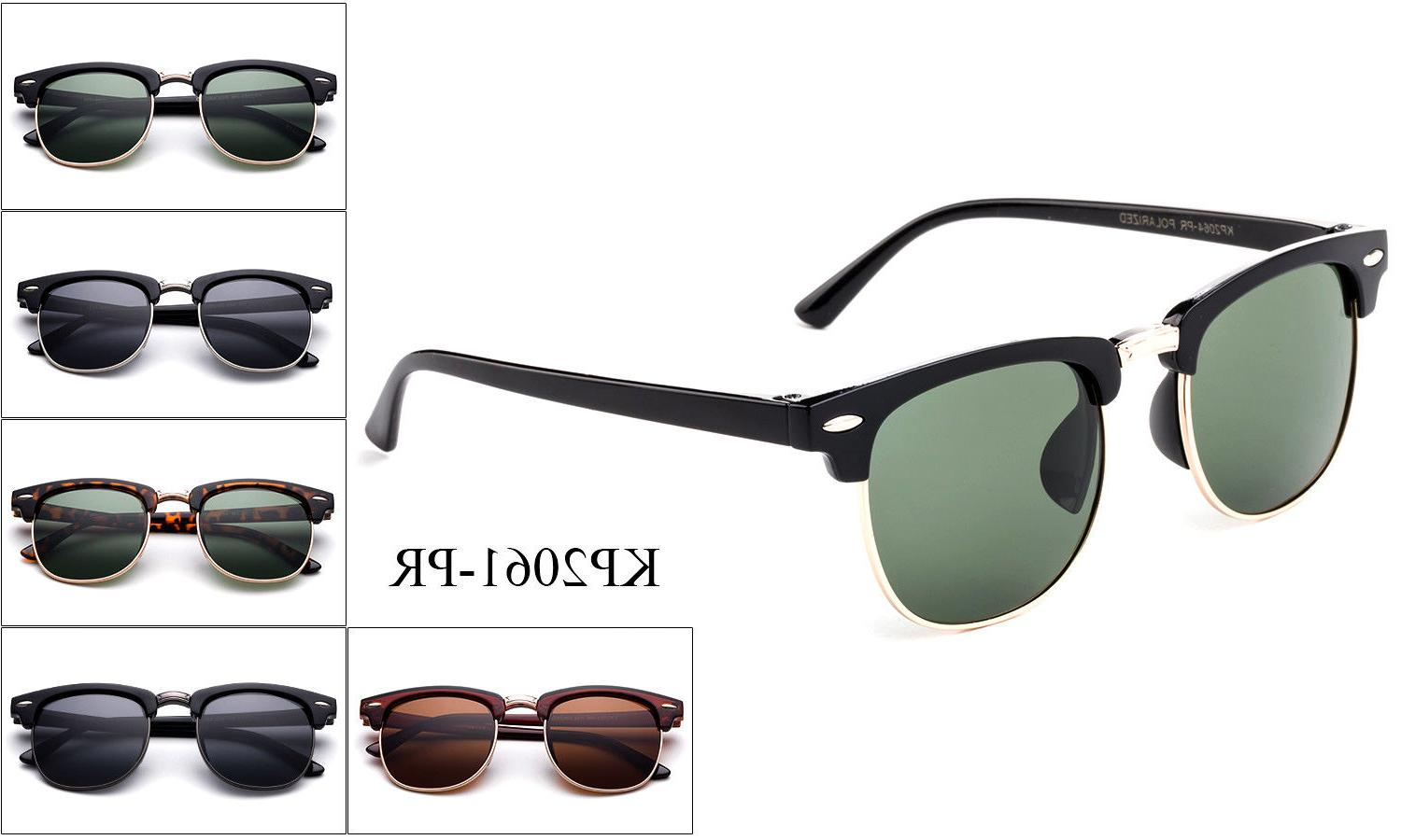 Polarized Kids Sunglasses Classic Vintage Boys Girls Childre