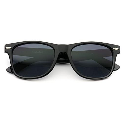 WearMe Pro Polarized Lens Black Rimmed Sunglasses