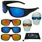 POLARIZED Men's Sunglasses Mirrored Lenses Sport Shades Jogg