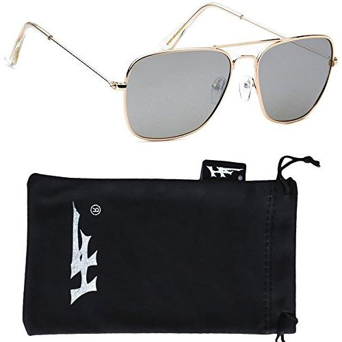 polarized metal sunglasses classic look great fit