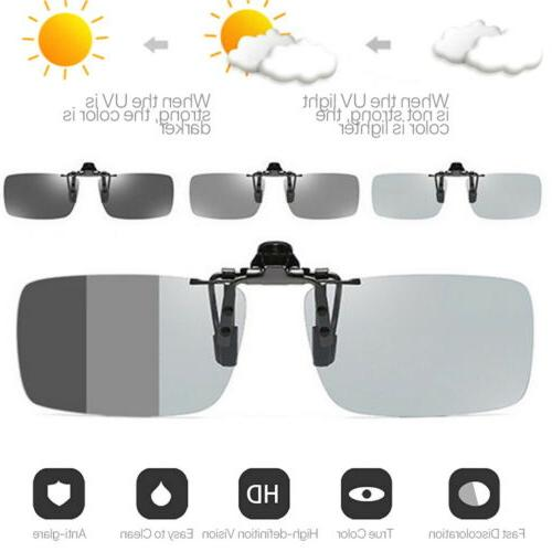 Polarized Photochromic Sunglasses UV400 Driving Fishing Lens