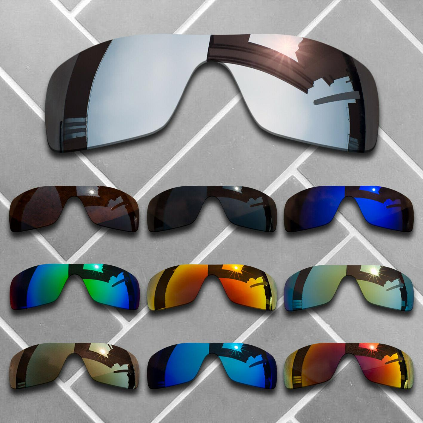 Polarized Replacement Lenses for Oakley Batwolf Sunglasses -