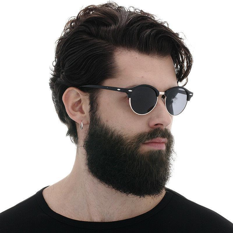 Polarized Retro Sunglasses Flash Mirrored