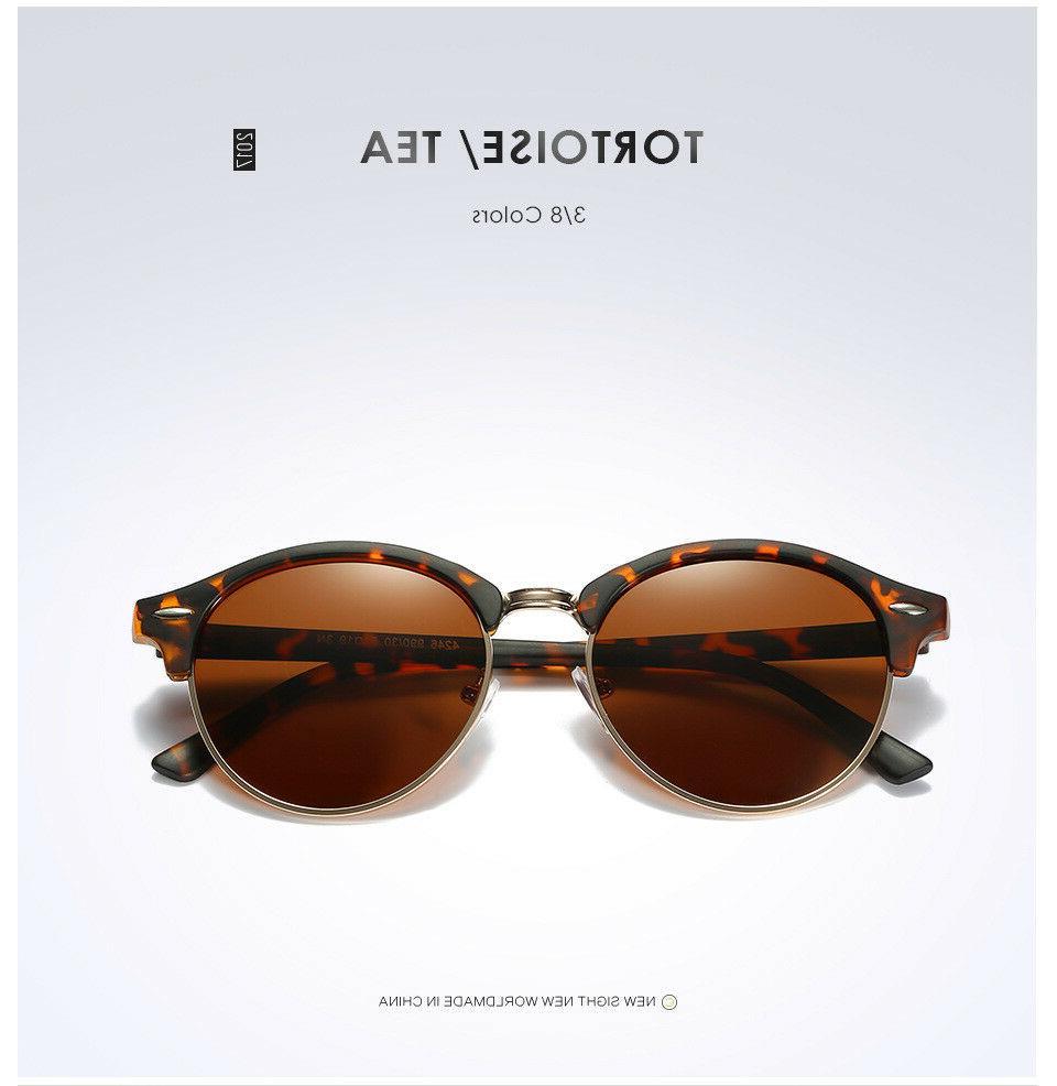 Polarized Retro Sunglasses Mirrored