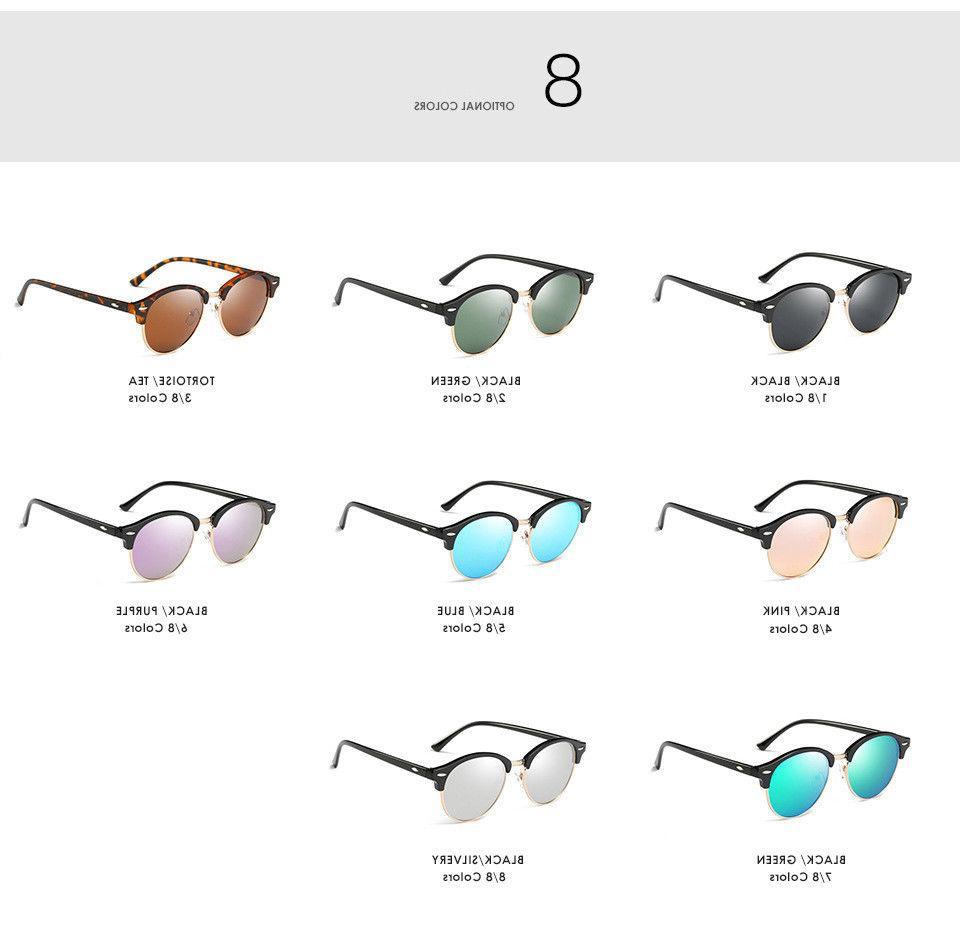 Polarized Classic Sunglasses Men Mirrored