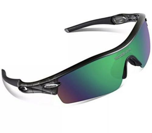 polarized sports sunglasses 5 set interchangeable lenses