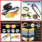 Polarized Sports Sunglasses for Men Women Bike Glasses with